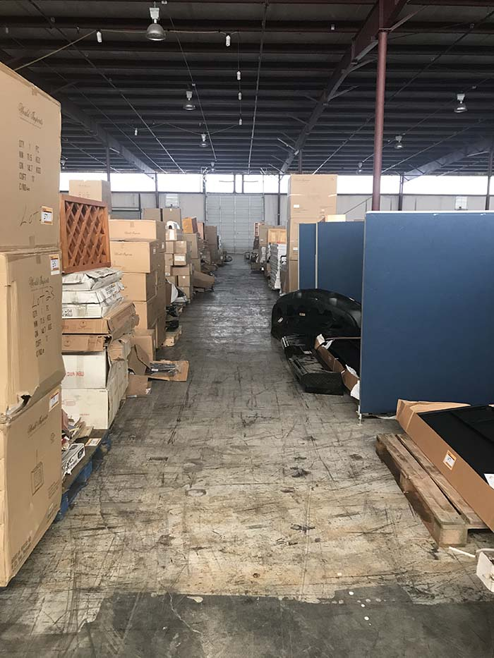 Warehouse Liquidation Auction